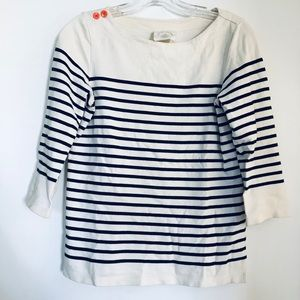 Anthropologie striped top size xs